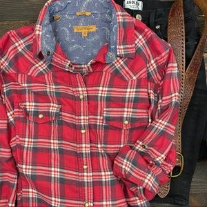 JACHS, GIRLFRIEND BEA FLANNEL, SZ MED